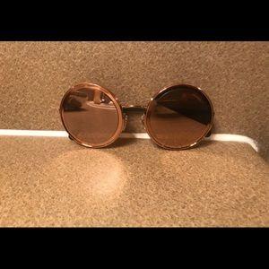3adde6f631e4 CHANEL Accessories - Chanel 4226 C117 4Z Rose Gold Women s Sunglasses